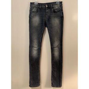 IRO Eyal Gray High Rise Skinny Jeans